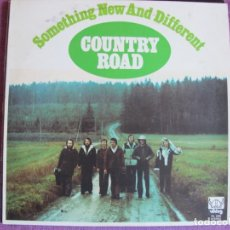 Discos de vinilo: LP - COUNTRY ROAD (COUNTRY AND FOLK) – SOMETHING NEW AND DIFFERENT (SWEDEN, VIKING RECORDS 1973). Lote 134929530