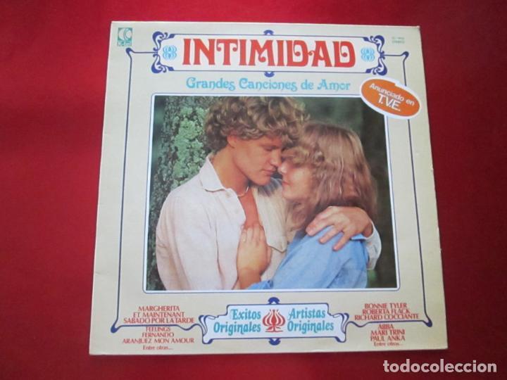 LP-INTIMIDAD-GRANDES CANCIONES DE AMOR-(SL-1015)-IMPERIAL INTERNACIONAL(VARIAS MARCAS)- K TEL-1979 (Música - Discos - LP Vinilo - Pop - Rock - Internacional de los 70)