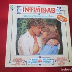 Discos de vinilo: LP-INTIMIDAD-GRANDES CANCIONES DE AMOR-(SL-1015)-IMPERIAL INTERNACIONAL(VARIAS MARCAS)- K TEL-1979. Lote 134958074