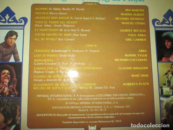 Discos de vinilo: LP-INTIMIDAD-GRANDES CANCIONES DE AMOR-(SL-1015)-IMPERIAL INTERNACIONAL(VARIAS MARCAS)- K TEL-1979 - Foto 5 - 134958074