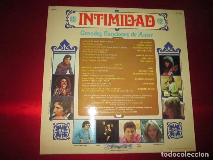 Discos de vinilo: LP-INTIMIDAD-GRANDES CANCIONES DE AMOR-(SL-1015)-IMPERIAL INTERNACIONAL(VARIAS MARCAS)- K TEL-1979 - Foto 9 - 134958074