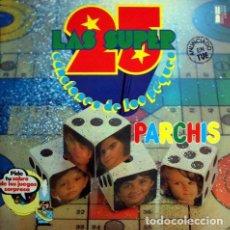 Discos de vinilo: PARCHIS – LAS SUPER 25 CANCIONES DE LOS PEQUES (ESPAÑA, 1979. 2 × VINYL, LP, RED & GREEN). Lote 134959394
