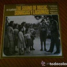 Discos de vinilo: SONRISAS Y LÁGRIMAS BANDA SONORA ORIGINAL VERGARA. Lote 134959878