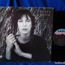 Discos de vinilo: PATTI SMITH - DREAM FOR LIVE - LP 1988 -. Lote 134971778