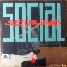 Discos de vinilo: SEGURIDAD SOCIAL : VINO TABACO Y CARAMELOS [ESP 1988]. Lote 134976374
