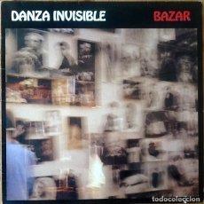 Discos de vinilo: DANZA INVISIBLE : BAZAR [ESP 1991] LP/1ST EDITION. Lote 134976530