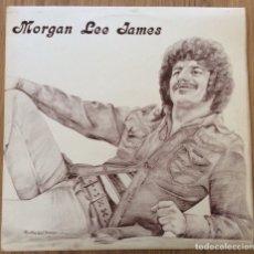 Discos de vinilo: MORGAN LEE JAMES LP AUTOGRAFIADO EDIC INGLESA VERSION SPACE ODDITY BOWIE. Lote 134978198