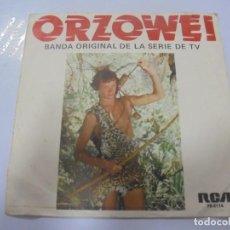 Discos de vinilo: SINGLE. ORZOWEI. BANDA ORIGINAL DE LA SERIE DE TV. 1977. RCA. Lote 134983558