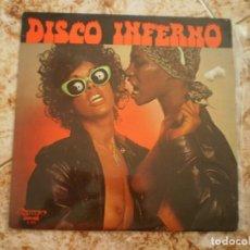Discos de vinilo: LP. PHIL CONWAY. DISCO INFERNO. PORTADA EROTICA. Lote 134983842