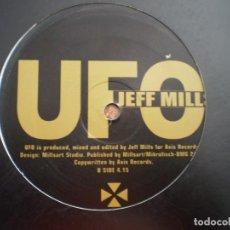 Discos de vinilo: MAXI 12. JEFF MILLS. UFO. Lote 134984130