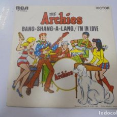 Disques de vinyle: SINGLE. THE ARCHIES. BANG-SHANG-A-LANG / IM IN LOVE. 1968. RCA VICTOR. Lote 135001550