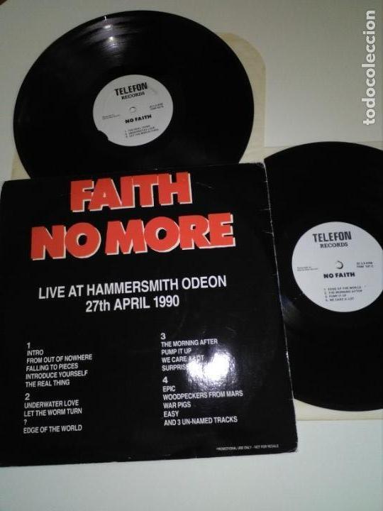 Discos de vinilo: Faith no more, live hammersmith 2lp - Foto 2 - 135001758