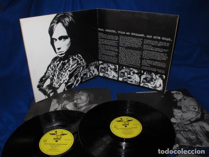 Discos de vinilo: IGGY AND THE STOOGES - METALLIC 2X KO - 2LP FRANCE SKYDOG 1989 - IGGY POP - COMO NUEVO - Foto 2 - 135002702