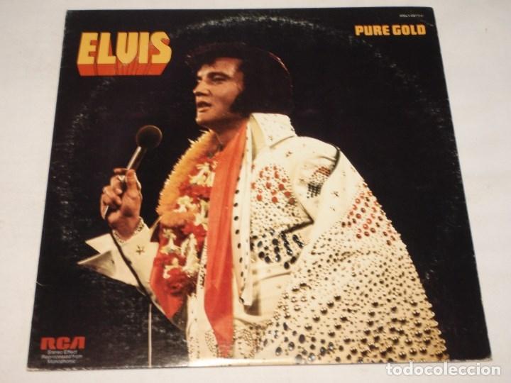 ELVIS PRESLEY ( PURE GOLD ) USA-1975 LP33 RCA (Música - Discos - LP Vinilo - Rock & Roll)