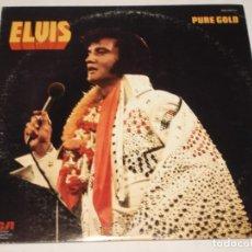 Discos de vinilo: ELVIS PRESLEY ( PURE GOLD ) USA-1975 LP33 RCA. Lote 1128785