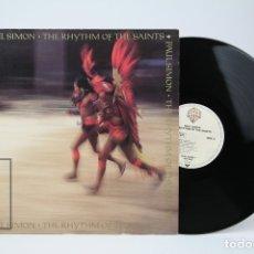 Discos de vinilo: DISCO LP DE VINILO - PAUL SIMON, THE RHYTHM OF THE SAINTS - WARNER - AÑO 1990. Lote 135025003
