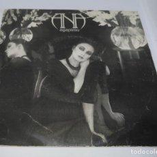 Discos de vinil: ANA BELEN - AGAPIMU - VUELO BLANCO DE GAVIOTA - CBS 1979. Lote 135026910