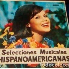 Discos de vinilo: COLECCIÓN DE 12 LPS DE SELECCIONES HISPANOAMERICANAS. Lote 135036598