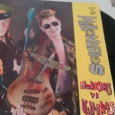 Discos de vinilo: SINGLE (VINILO) DE LOS MILLONARIOS AÑOS 80. Lote 135037318