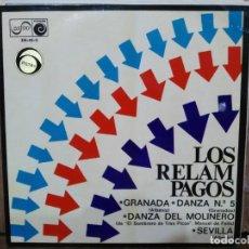 Discos de vinilo: LOS RELÁMPAGOS - GRANADA / DANZA Nº 5 / DANZA DEL MOLINERO / ... - EP. DEL SELLO ZAFIRO DE 1968. Lote 135040302