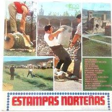 Discos de vinilo: VINILO DE ESTAMPAS NORTEÑAS. AÑO 1968. Lote 135040566