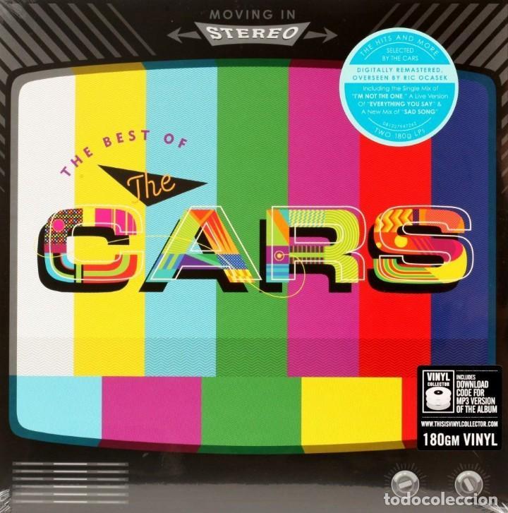 MOVING ON STEREO THE BEST OF THE CARS * 2LP 180G + DESCARGA + DELUXE PRECINTADO!! (Música - Discos - LP Vinilo - Pop - Rock - New Wave Extranjero de los 80)