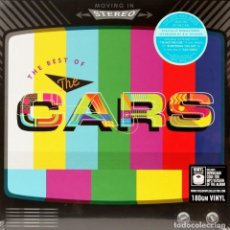 Discos de vinilo: MOVING ON STEREO THE BEST OF THE CARS * 2LP 180G + DESCARGA + DELUXE PRECINTADO!!. Lote 135045974