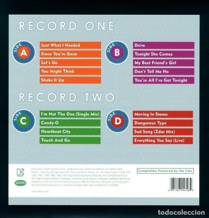 Discos de vinilo: MOVING ON STEREO THE BEST OF THE CARS * 2LP 180g + Descarga + Deluxe Precintado!! - Foto 6 - 135045974
