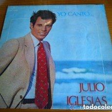 Discos de vinilo: JULIO IGLESIAS YO CANTO. Lote 135057690