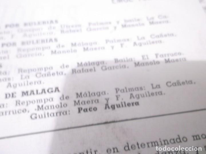 Discos de vinilo: BAILES ESPAÑOLES / FIESTA POR BULERIAS / SOLEA POR BULERIAS + 2 (EP 1958)gaspar de utrera,repompa de - Foto 3 - 135061870