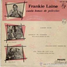 Discos de vinilo: FRANKIE LAINE CANTA TEMAS DE PELICULAS.PHILIPS.(1958). Lote 135067662