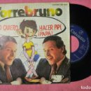 Discos de vinilo: TORREBRUNO YO QUIERO HACER PIPI PAPA 1979 SINGLE PROMO SPAIN PRESS (VG++/VG++) S. Lote 135080318