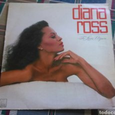 Discos de vinilo: DIANA ROSS LP TO LOVE AGAIN 1981 SOUL DISCO. Lote 135096822