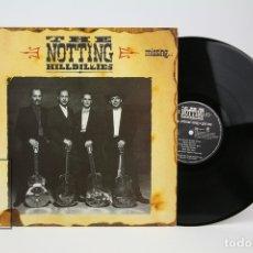 Discos de vinilo: DISCO LP DE VINILO - THE NOTTING HILLBILLIES, MISSING... - MARK KNOPFLER / DIRE STRAITS - AÑO 1990. Lote 135097149