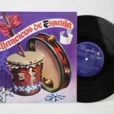 Discos de vinilo: DISCO LP DE VINILO - VILLANCICOS DE ESPAÑA, CORO ESCUELAS AVEMARIANAS - PERGOLA - AÑO 1970. Lote 135097455