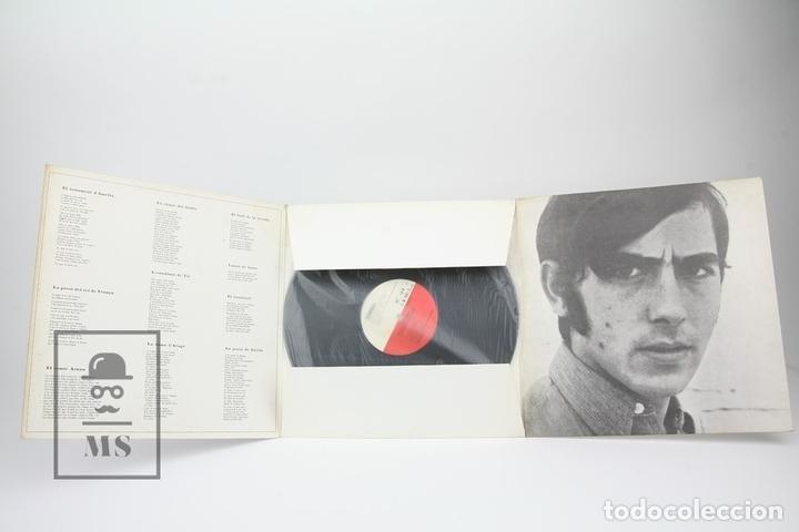 Discos de vinilo: Disco LP De Vinilo - Joan Manuel Serrat, Cançons Tradicionals - Edigsa - Año 1967 - Foto 3 - 135097834