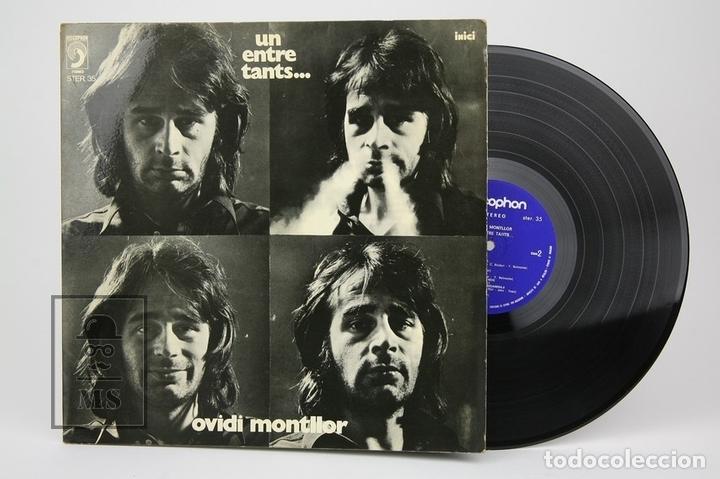 DISCO LP DE VINILO - OVIDI MONTLLOR, UN ENTRE TANTS... - DISCOPHON - AÑO 1972 (Música - Discos - LP Vinilo - Solistas Españoles de los 70 a la actualidad)