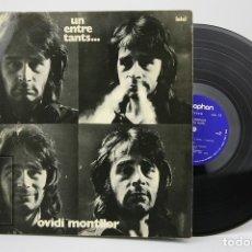 Discos de vinilo: DISCO LP DE VINILO - OVIDI MONTLLOR, UN ENTRE TANTS... - DISCOPHON - AÑO 1972. Lote 135097950