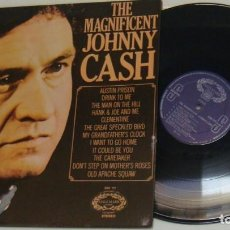 Discos de vinilo: LP - JOHNNY CASH - THE MAGNIFICENT JOHNNY CASH - MADE IN USA - CASH. Lote 135099242
