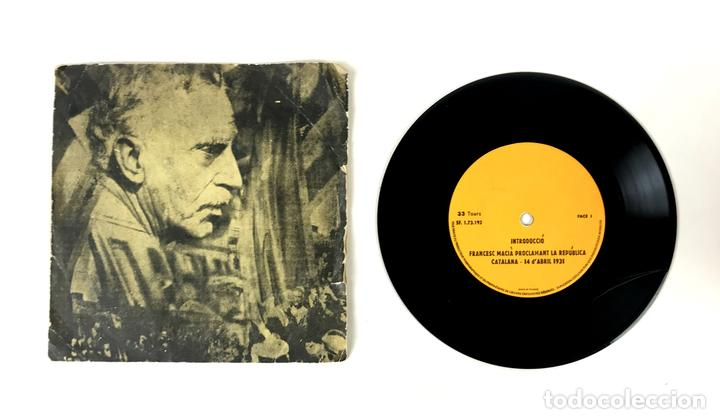 DISCO VINILO. REPÚBLICA CATALANA. FRANCESC MACIÀ. FRANCIA. 1931. (Música - Discos - Singles Vinilo - Otros estilos)