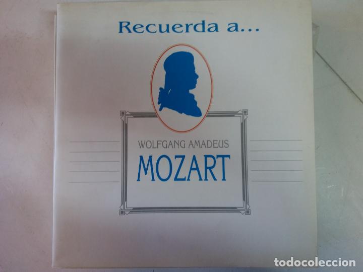 DISCO VINILO. MOZART. (Música - Discos - LP Vinilo - Clásica, Ópera, Zarzuela y Marchas)
