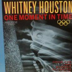 Discos de vinilo: WHITNEY HOUSTON - ONE MOMENT IN TIME MAXI SINGLE 1988. Lote 135106118
