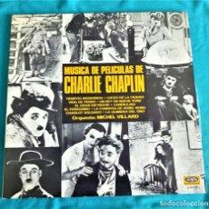 Discos de vinilo: MUSICA DE PELICULAS DE CHARLIE CHAPLIN - LP GATEFOLD - EDITADO EN ESPAÑA, 1978. VOGUE. Lote 135116959