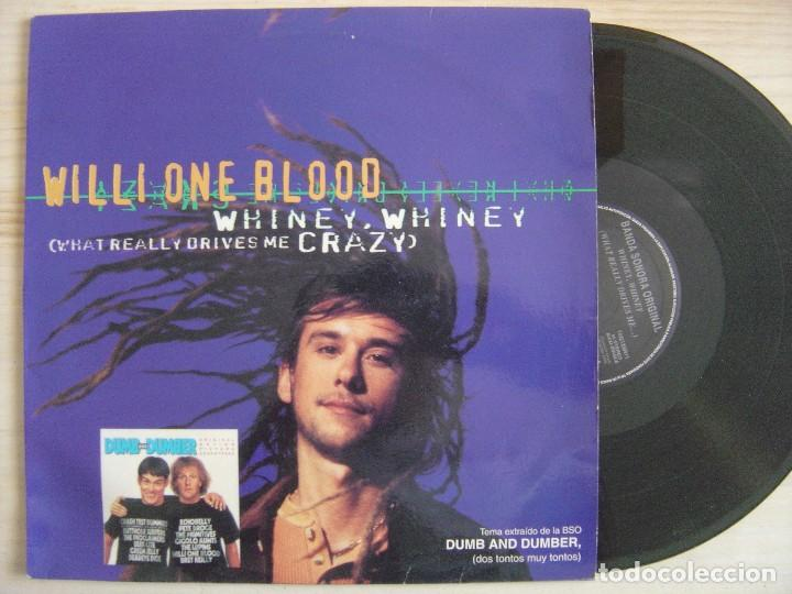WILLI ONE BLOOD - WHINEY, WHINEY (WHAT REALLY DRIVES ME CRAZY) - MAXI-SINGLE - 1994 RCA (Música - Discos - LP Vinilo - Rap / Hip Hop)