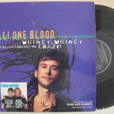 Discos de vinilo: WILLI ONE BLOOD - WHINEY, WHINEY (WHAT REALLY DRIVES ME CRAZY) - MAXI-SINGLE - 1994 RCA. Lote 135130542