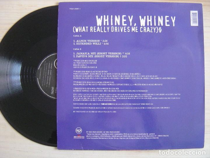 Discos de vinilo: Willi One Blood - Whiney, Whiney (What Really Drives Me Crazy) - Maxi-Single - 1994 RCA - Foto 2 - 135130542