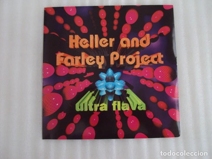 HELLER AND FARLEY PROJECT, ULTRA FLAVA, MAXI SINGLE EDICION ESPAÑOLA 1996 MAX MUSIC (Música - Discos de Vinilo - Maxi Singles - Disco y Dance)