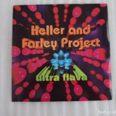 Discos de vinilo: HELLER AND FARLEY PROJECT, ULTRA FLAVA, MAXI SINGLE EDICION ESPAÑOLA 1996 MAX MUSIC. Lote 135131890