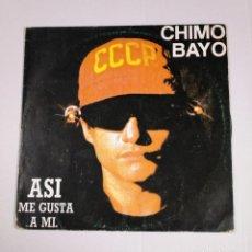 Discos de vinilo: CHIMO BAYO. - ASI ME GUSTA A MI. - LP. TDKDA34. Lote 135137386