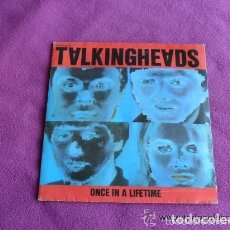 Discos de vinilo: TALKING HEADS - ONCE IN A LIFETIME. Lote 135141618